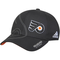 Philadelphia Flyers nhl adidas flex-fit on ice хоккейная бейсболка черная