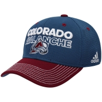 Colorado Avalanche nhl adidas flex-fit locker хоккейная бейсболка синяя