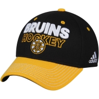 Boston Bruins nhl adidas flex-fit locker хоккейная бейсболка черная