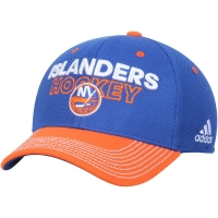 New York Islanders nhl adidas flex-fit locker хоккейная бейсболка синяя