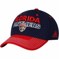 Florida Panthers nhl adidas flex-fit locker хоккейная бейсболка темно-синяя