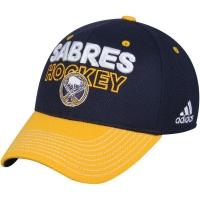 Buffalo Sabres nhl adidas flex-fit locker хоккейная бейсболка темно-синяя