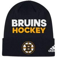 Boston Bruins nhl adidas хоккейная шапка черная