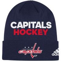 Washington Capitals nhl adidas хоккейная шапка темно-синяя