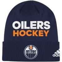 Edmonton Oilers nhl adidas хоккейная шапка синяя