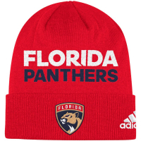 Florida Panthers nhl adidas хоккейная шапка красная