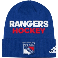New York Rangers nhl adidas хоккейная шапка синяя