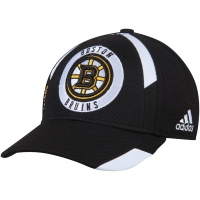 Boston Bruins nhl adidas flex-fit practice хоккейная бейсболка черная