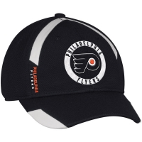 Philadelphia Flyers nhl adidas flex-fit practice хоккейная бейсболка черная