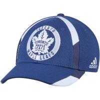 Toronto Maple Leafs nhl adidas flex-fit practice хоккейная бейсболка синяя
