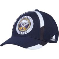 Buffalo Sabres nhl adidas flex-fit practice хоккейная бейсболка темно-синяя