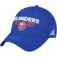 New York Islanders nhl adidas on ice хоккейная бейсболка синяя