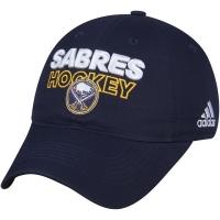 Buffalo Sabres nhl adidas on ice хоккейная бейсболка темно-синяя