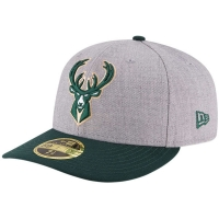 Milwaukee Bucks nba new era low profile fitted спортивная бейсболка