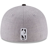 San Antonio Spurs nba new era low profile fitted спортивная бейсболка серая
