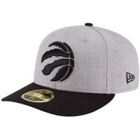 Toronto Raptors nba new era low profile fitted спортивная бейсболка серая