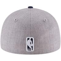 Utah Jazz nba new era low profile fitted спортивная бейсболка серая