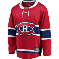 Montreal Canadiens nhl fanatics джерси хоккейный свитер красный