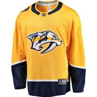 Nashville Predators nhl fanatics джерси хоккейный свитер желтый