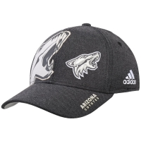 Arizona Coyotes nhl adidas flex-fit travel хоккейная бейсболка черная