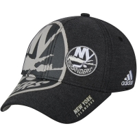 New York Islanders nhl adidas flex-fit travel хоккейная бейсболка черная
