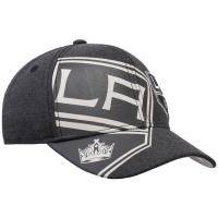 Los Angeles Kings nhl adidas flex-fit travel хоккейная бейсболка черная