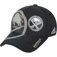 Buffalo Sabres nhl adidas flex-fit travel хоккейная бейсболка черная