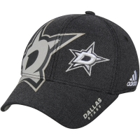 Dallas Stars nhl adidas flex-fit travel хоккейная бейсболка черная