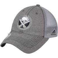 Buffalo Sabres nhl adidas travel хоккейная бейсболка с сеткой серая