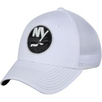 New York Islanders nhl adidas flex-fit tonal хоккейная бейсболка белая