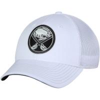 Buffalo Sabres nhl adidas flex-fit tonal хоккейная бейсболка белая