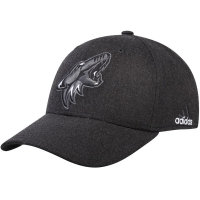Arizona Coyotes nhl adidas flex-fit tonal хоккейная бейсболка черная