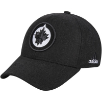 Winnipeg Jets nhl adidas flex-fit tonal хоккейная бейсболка черная