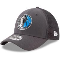 Dallas Mavericks nba new era flex-fit on-court спортивная бейсболка серая