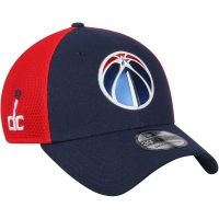 Washington Wizards nba new era flex-fit on-court спортивная бейсболка темно-синяя