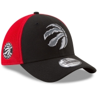 Toronto Raptors nba new era flex-fit on-court спортивная бейсболка черная