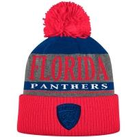 Florida Panthers nhl adidas хоккейная шапка с помпоном синяя