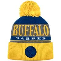 Buffalo Sabres nhl adidas heathered хоккейная шапка с помпоном цветная
