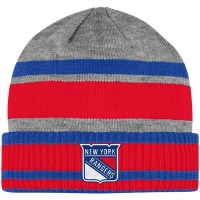 New York Rangers nhl adidas хоккейная шапка полосатая