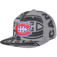 Montreal Canadiens nhl adidas snapback repeat хоккейная кепка серая