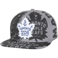 Toronto Maple Leafs nhl adidas snapback repeat хоккейная кепка серая