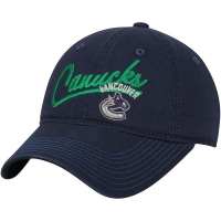 Vancouver Canucks nhl adidas women's хоккейная бейсболка синяя