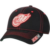 Detroit Red Wings nhl ccm structured flex хоккейная бейсболка черная