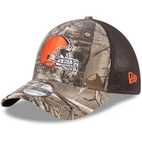 Cleveland Browns nfl new era flex trucker спортивная бейсболка с сеткой камуфляжная