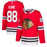 Patrick Kane Chicago Blackhawks nhl adidas authentic хоккейный свитер красный