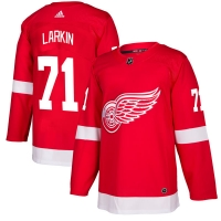 Dylan Larkin Detroit Red Wings nhl adidas authentic хоккейный свитер красный