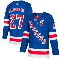 Ryan McDonagh New York Rangers nhl adidas authentic хоккейный свитер синий