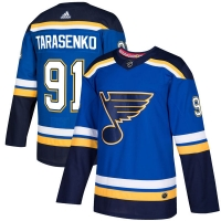 Vladimir Tarasenko St Louis Blues nhl adidas authentic хоккейный свитер синий