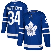 Auston Matthews Toronto Maple Leafs nhl adidas authentic хоккейный свитер синий