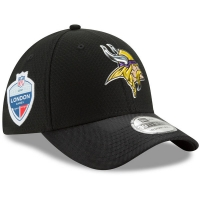 Minnesota Vikings nfl new era flex london games спортивная бейсболка черная